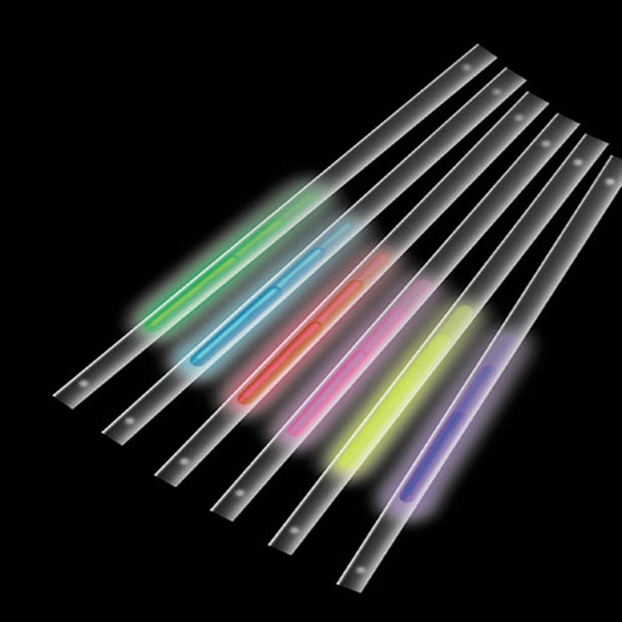 Glow-in-the-dark Motion Straws