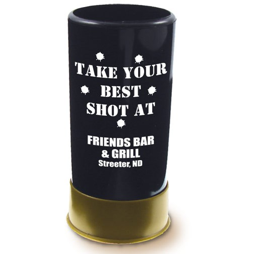 1.5 oz. Acrylic Shots Gun Shell Shooters