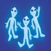 Alien Glow-in-the-dark Figure Toys