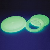 Glow-in-the-dark Flying Discs