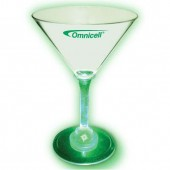 7 oz. Acrylic Lighted Stem Martini Glass