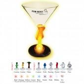 7 oz. Lightup Novelty Stem Martini