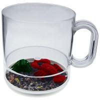 12 oz. Acrylic Beach Theme Compartment Coffee Mugs