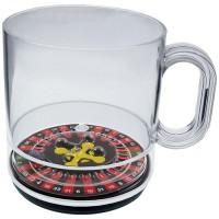 12 oz. Acrylic Casino Theme Compartment Coffee Mugs