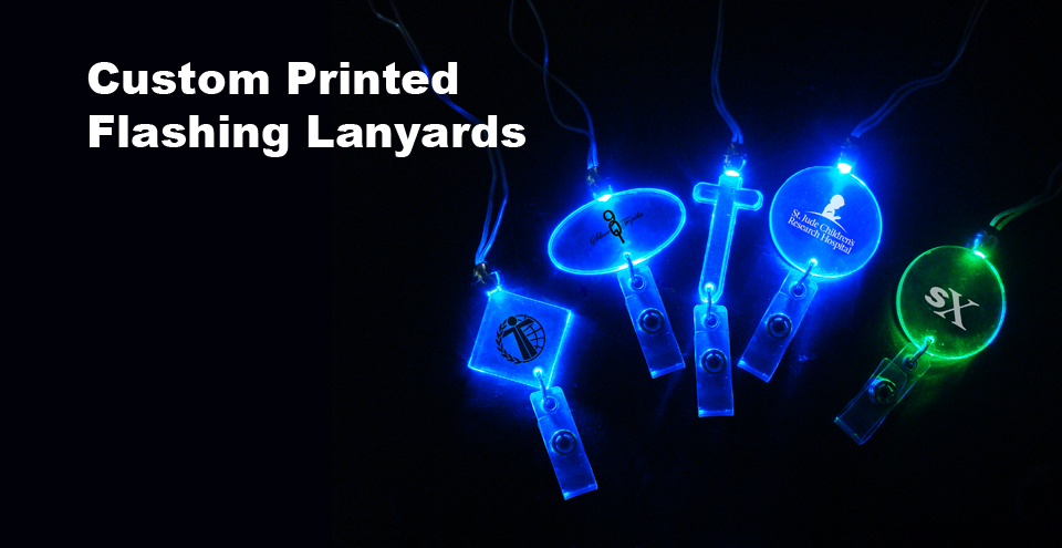 Custom Flashing Lanyards
